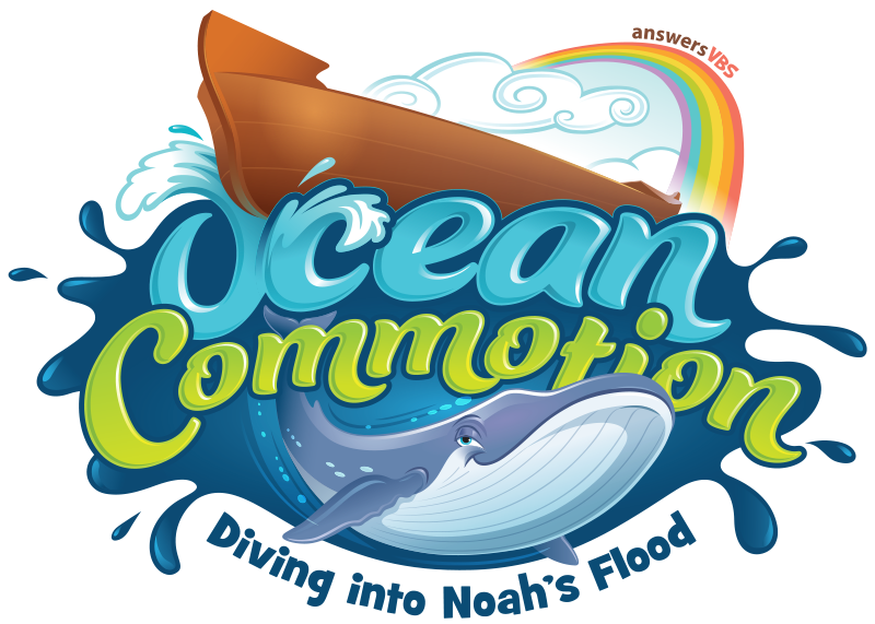 Answers in Genesis Ocean Commotion VBS KidZ at Heart